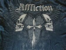 AFFLICTION MMA Rare JAY HIERON Mixed Martial Arts Fight T Shirt Size XL