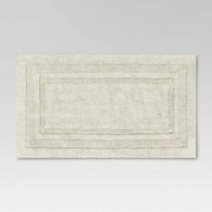 "Performance Cotton Reversible Bath Rug - Threshold-20""x34""-Cream"