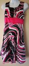 GIRLS SIZE 16 FLOWING SUMMER PARTY DRESS CLOTHING