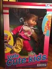 "Vintage 1991 Jesmar Doll 18"" ""Little Cute Kids"" Soft Bodied Collectible NIB"