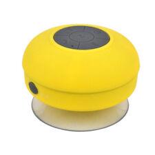 Mini Wireless Bluetooth Speaker Portable MP3 Player Waterproof IPX4 Mic Yellow