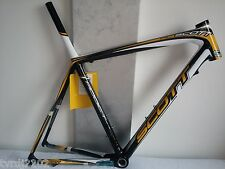 SCOTT ADDICT RC (2010) HMX CARBON Road Frameset 700c size L 56 cm
