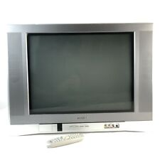 "Toshiba 20AF45 20"" 20 inch Flatscreen CRT TV Retro Gaming w/ Remote Front Inputs"