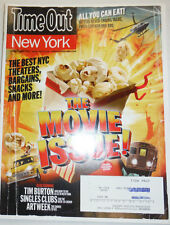 Timeout Magazine The Movie Issue Best NYC Theaters March 2010 010915R