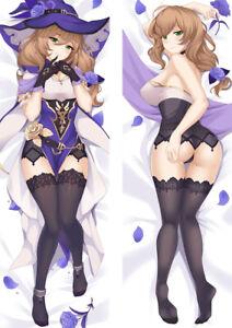 Genshin Impact Lisa  Dakimakura Pillow Case Cover Multi-size