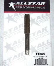 "Allstar Tungsten Steel Tap Titanium Coated 1/2"" -20 LH Hand Fine Thread ALL11065"