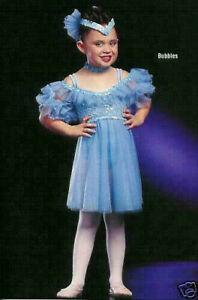 Group Lot 4- Child XS BUBBLES Babydoll Ballet Dance Dress Costume