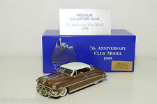. BROOKLIN BRK 36X HUDSON HORNET HOLLYWOOD COUPE 7TH ANNIVERSARY 1/350 MIB RARE