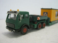 Kibri ho/1:87 MB vehículos pesados de cargador profundamente construcción contenedores hochtief (ck/109-6s6/70)