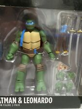 Teenage Mutant Ninja Turtles Leonardo GameStop Batman vs Tmnt Series Loose