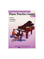 Hal Leonard Student Piano Library Practice Games Learn to Play MUSIC BOOK 2