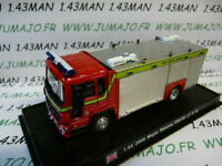 PDP52G 1/64 DEL PRADO Pompiers du Monde : UK VOLVO LF 6 14 major rescue 2000