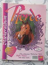 Pferde - Meine Lieblinge, DS 1997 nur 1 Sticker fehlt, sauber geklebt