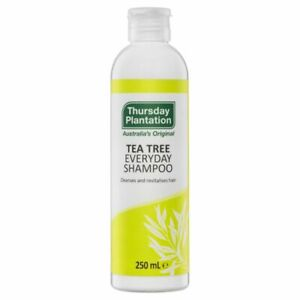 New 250ml Thursday Plantation Everyday Shampoo 100% Tea Tree Original Gentle