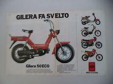 advertising Pubblicità 1983 GILERA ECO 50