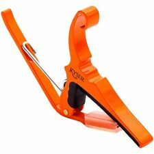 New Kyser KG6O Quick Change 6-String Acoustic Guitar Capo, Orange Blaze