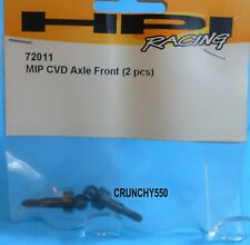 HPI 72011 MIP CVD AXLE FRONT (2) NITRO 3 RC Part