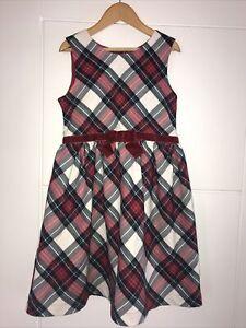 Girls Age 8 H&M Tartan Dress