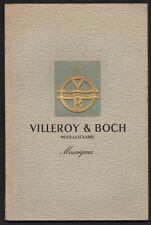 2 tolles Buch Fachbuch Merziger Terrakotta Villeroy /& Boch Unikate Auflage