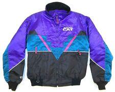 L vtg 90s ARCTIC CAT arcticwear THINSULATE colorblock JACKET snow mobile RACING