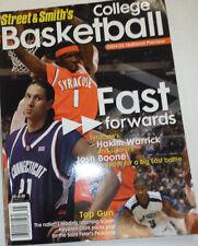 Street & Smith's College Basketball Magazine Hakim Warrick 2004-05 012115R2