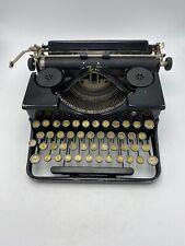 Royal Portable 1920's Typewriter OT344965 Black Glass Keys