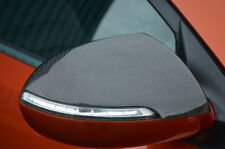 Carbon Fibre Wing Mirror Trim Set Covers To Fit Kia Sportage (2010-15)