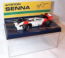 Minichamps 1:43 Ayrton Senna McLaren MP4/4 Honda V6 Turbo 1988