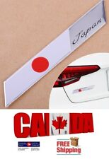 New Badge Chrome Car Japan Japanese Flag Decals Sticker Alloy Aluminum Emblem