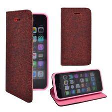 Fundas con tapa lisa color principal rojo para teléfonos móviles y PDAs