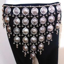Tribal BELT Hip Scarf Wrap Belly Dance Dancer Costume Skirt Jewelry Gypsy India