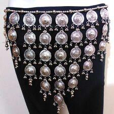 Tribal BELT Hip Scarf Wrap Belly Dance Dancer Costume Skirt Jewelry Gypsy India