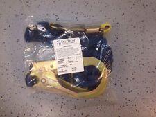 """FALLTECH  8240Y32D2R Lanyard,  """"Y"""" Leg,  Polyester,  Blue New"""