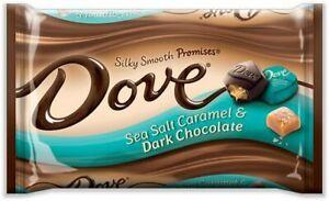 Dove Sea Salt Caramel Silky Smooth Promises Dark Chocolate Candy