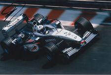 David Coulthard West McLaren Mercedes F1 HAND SIGNED 12x8 FOTO 3.