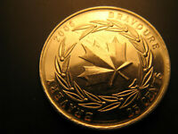 Canada 2006 Medal Of Bravery 25 Cent  Mint Coin.