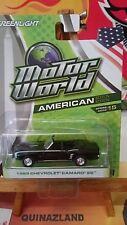 Greenlight Motor World 1969 Chevrolet Camaro SS (N17)