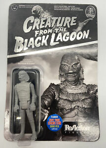 NYCC 2015 ReACTION CREATURE FROM THE BLACK LAGOON FIGURE BLACK & WHITE SUPER 7