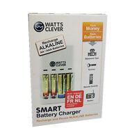 Ladegerät für Batterien Akkus AA Batterie AAA Laden von Normalen Batterien Akku