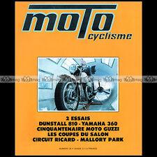 MOTOCYCLISME N°30 NORTON DUNSTALL 810 YAMAHA 360 RT 1 KAWASAKI 90 SS 750 H2 1971