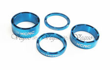 NEW KCNC HEADSET SPACER SET 3-5-10-14MM  AL6061 HOLLOW DESIGN, BLUE