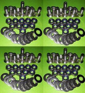 40 Chequer Plate Allen Key Screws & Nuts Land Rover 90 110 130 Defender STAINLSS