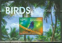 MICRONESIA  2015  BIRDS OF MICRONESIA SOUVENIR SHEET MINT NH