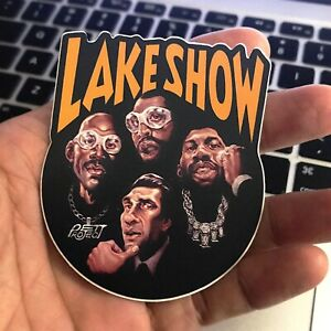 LAKESHOW Showtime Lakers Die Cut Vinyl Sticker Decal