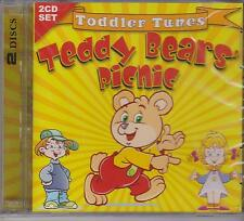 TEDDY BEARS PICNIC - TODDLER TUNES on 2 CD's - NEW -