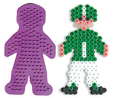 Boy Pegboard for Perler fuse beads - NEW