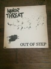 Minor Threat Out Of Step First Press LP 12""