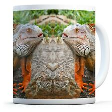 Awesome Iguana - Drinks Mug Cup Kitchen Birthday Office Fun Gift #14144