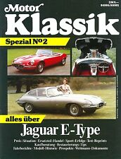 Motor KLASSIK SPEZIAL Nr. 2  1988 Alles über den JAGUAR E - Type