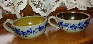 Salmon Falls Pottery Stoneware Chowder Bowls
